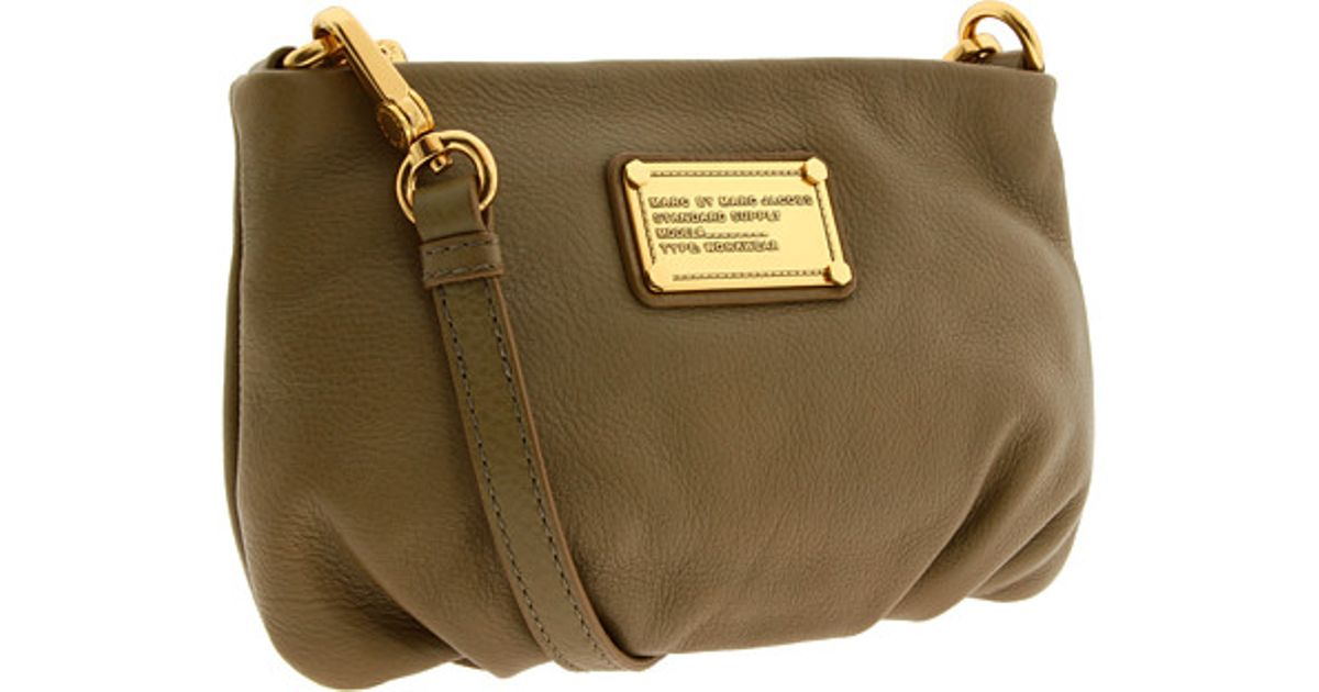 fbe1e29342f Marc By Marc Jacobs Classic Q - Percy Crossbody Bag in Natural - Lyst