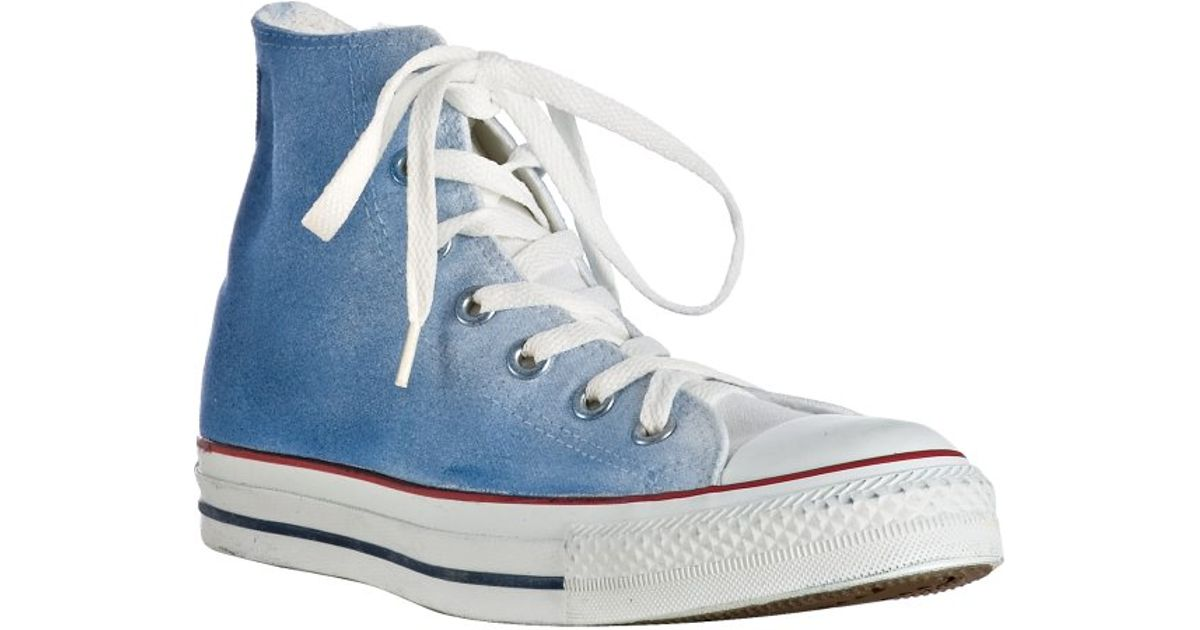81d6fcb146c33 Converse - Dark Blue Watercolor Canvas High-top Sneakers for Men - Lyst