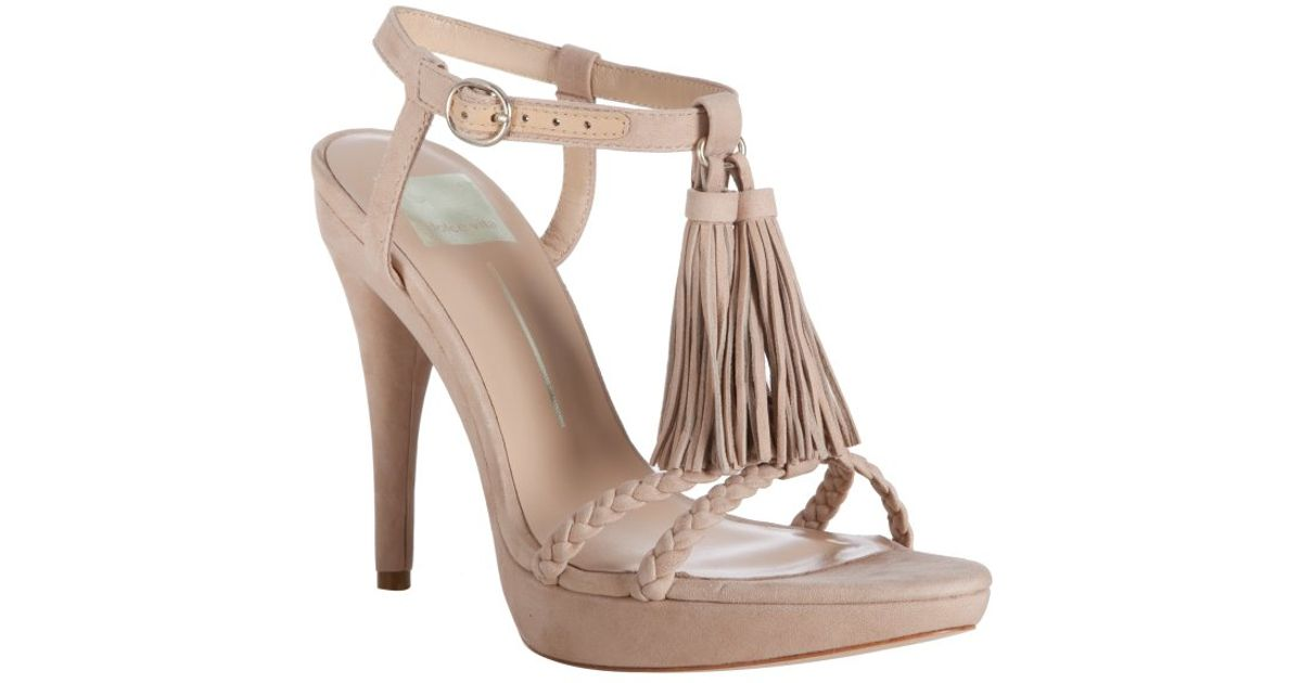 Dolce Vita Anne Thong Sandal in Natural - Lyst