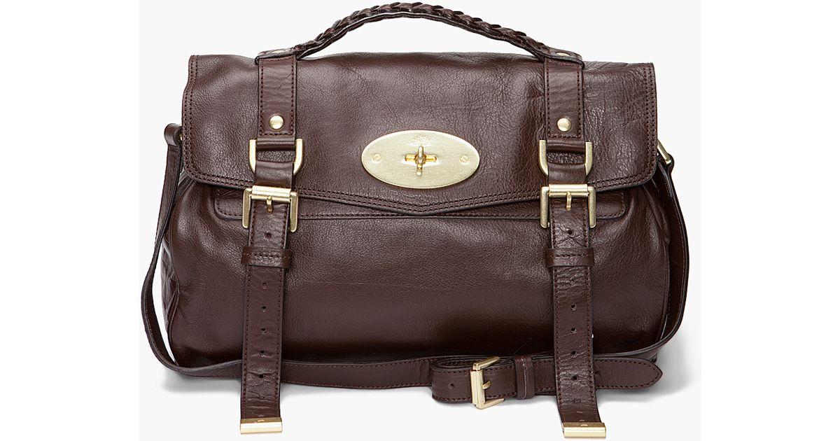 ... sweden lyst mulberry the alexa bag in brown 04472 ea981 cheap mulberry  alexa handbags ... 71c6b2eff7437