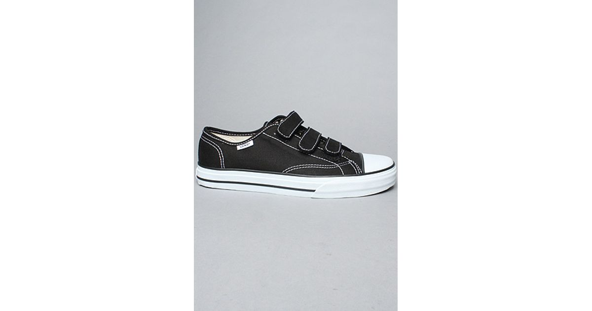 b16be3138c9164 Lyst - Vans The Prison Issue  23 Sneaker in Black   White in Black for Men