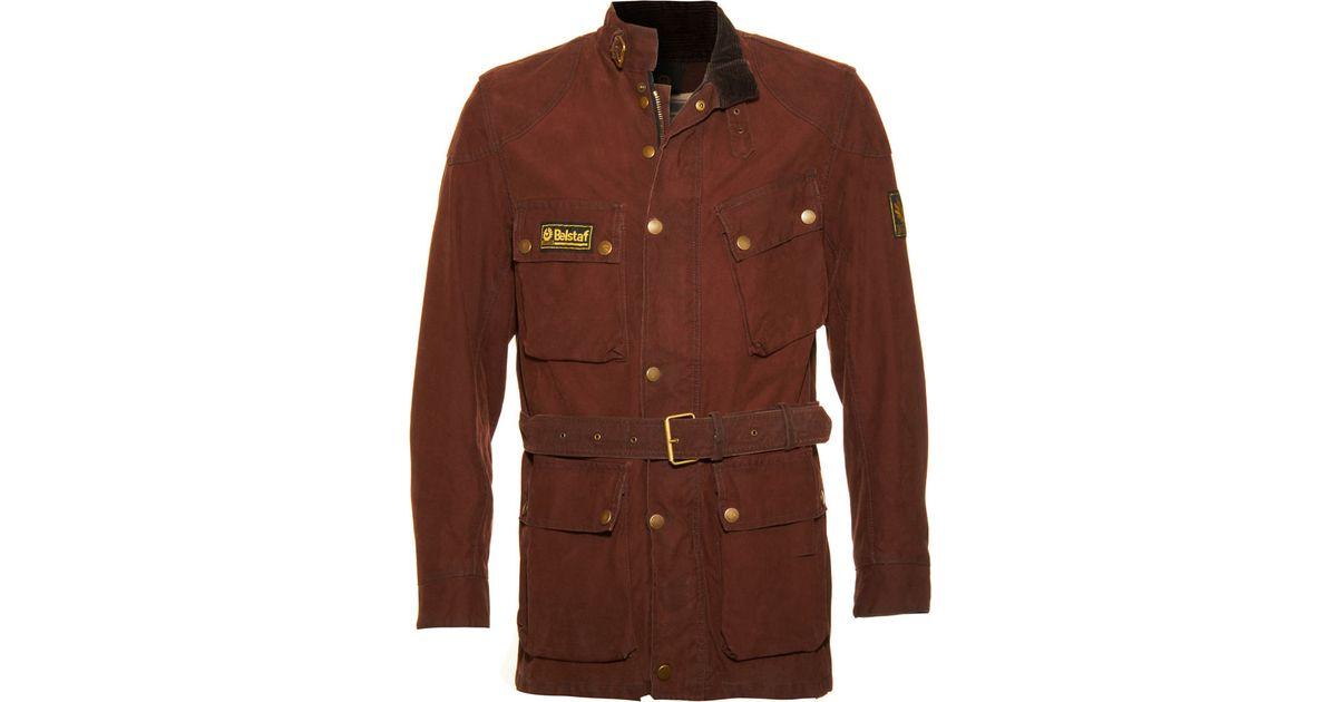 934e410cdf Belstaff Che Guevara Field Jacket in Brown for Men - Lyst