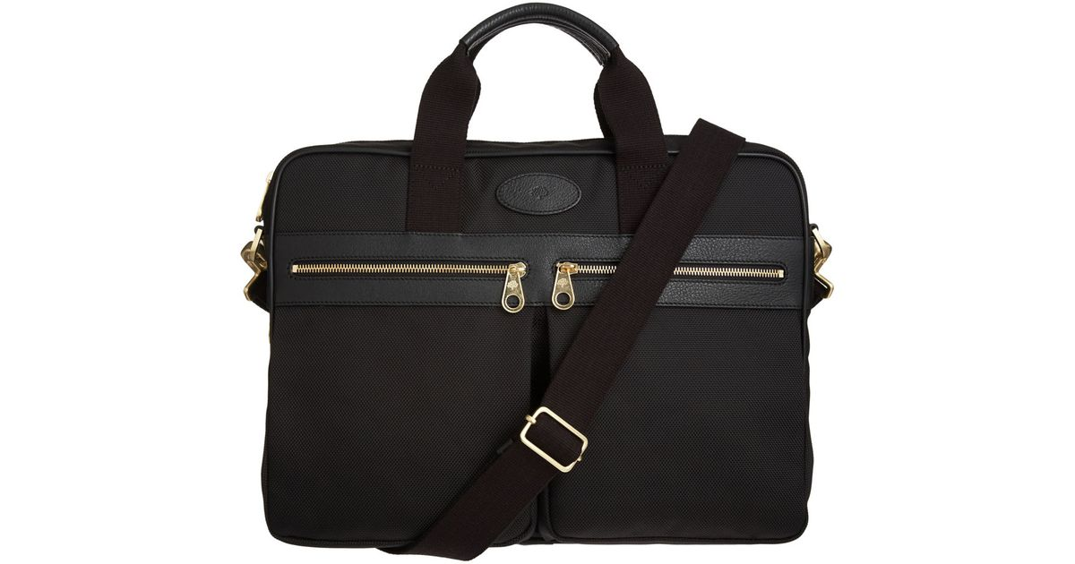 fc753f0e77b4 Mulberry Henry Laptop Case in Black for Men - Lyst
