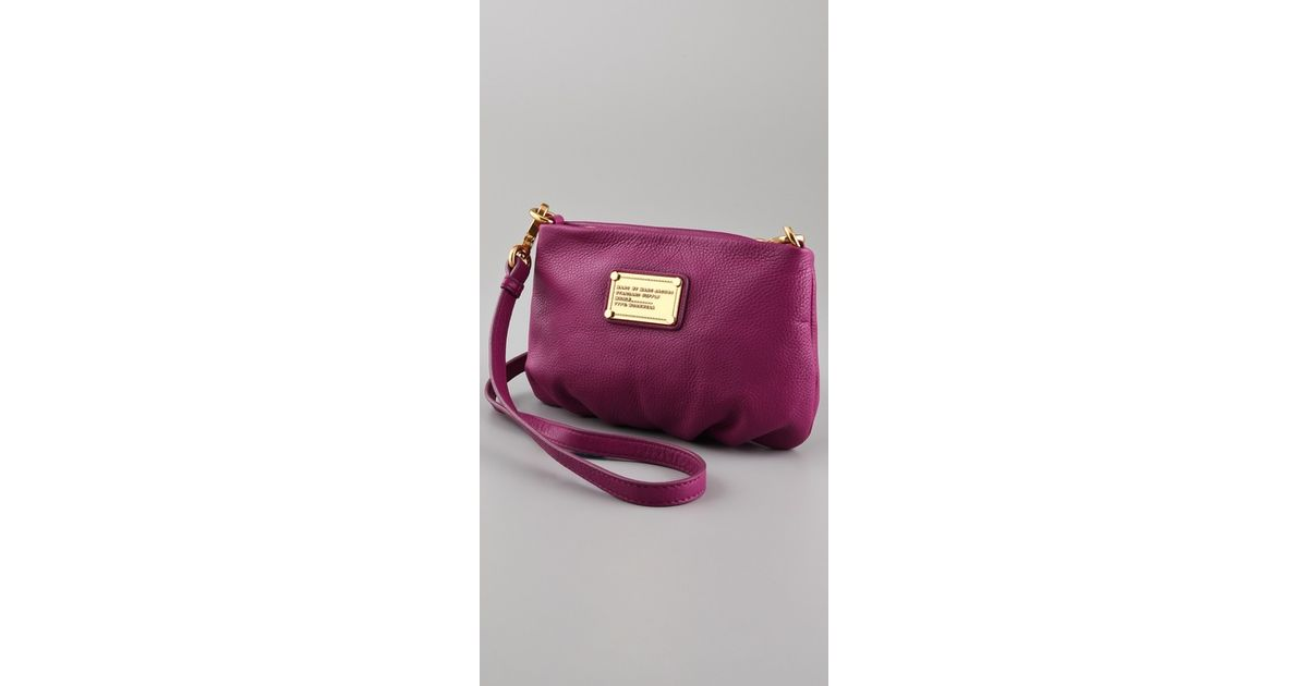 6be5a0f5da Lyst - Marc By Marc Jacobs Classic Q Percy in Purple