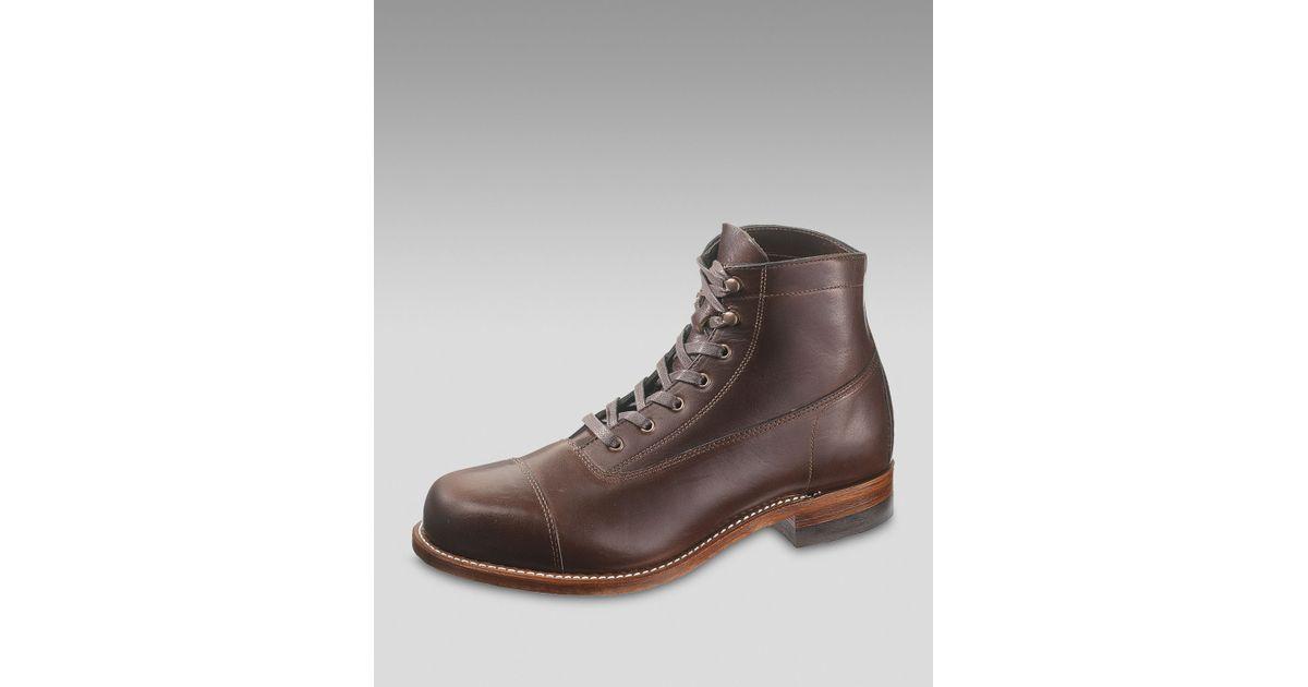 Wolverine Brown Rockford Cap toe Boot for men