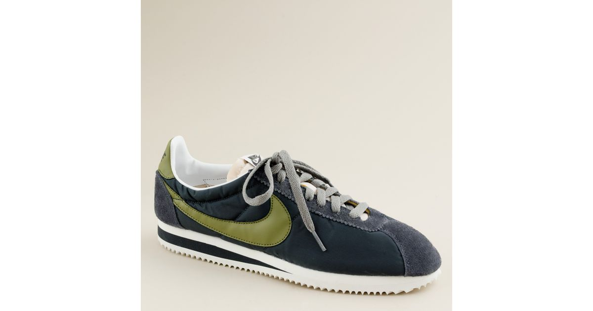 2b3466178 Lyst - J.Crew Nike® For J.crew Vintage Collection Cortez® Sneakers in Gray  for Men