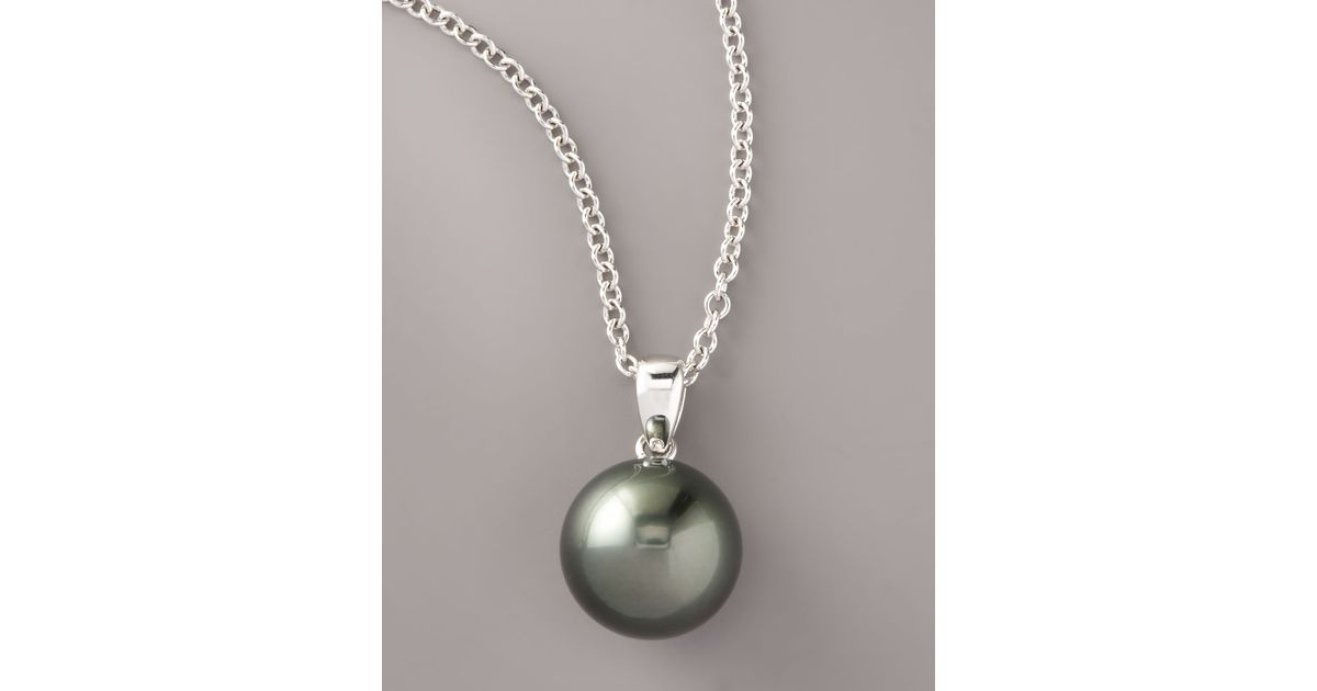 of jewelry pendant black shell necklaces inc grey gold italian shop womens yellow pearl necklace mother