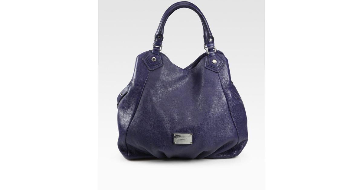 9898ac628ea Marc By Marc Jacobs Classic Q Francesca Bag in Blue - Lyst