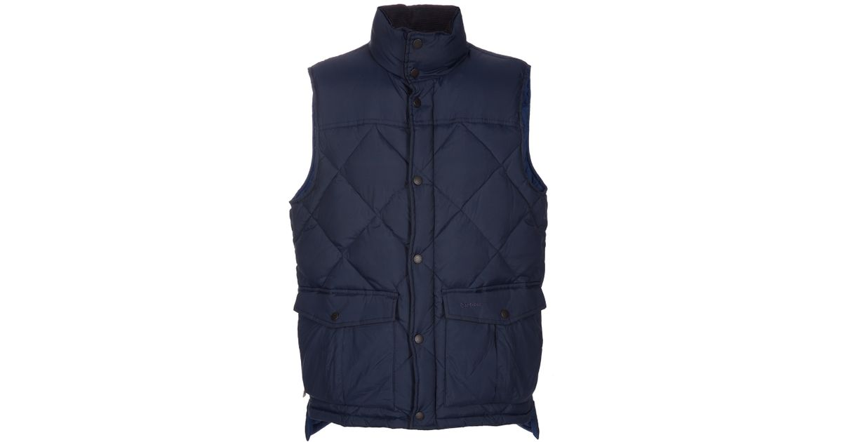 Barbour Explorer Gilet Blue