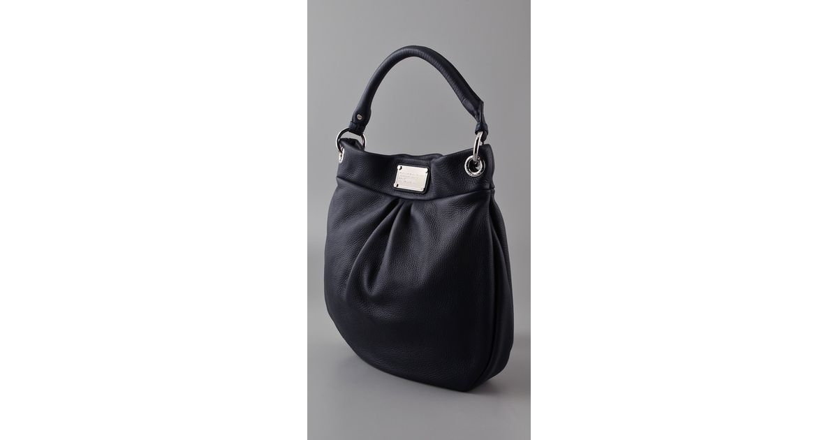 f0e23b0183537 Lyst - Marc By Marc Jacobs Classic Q Hillier Hobo in Black