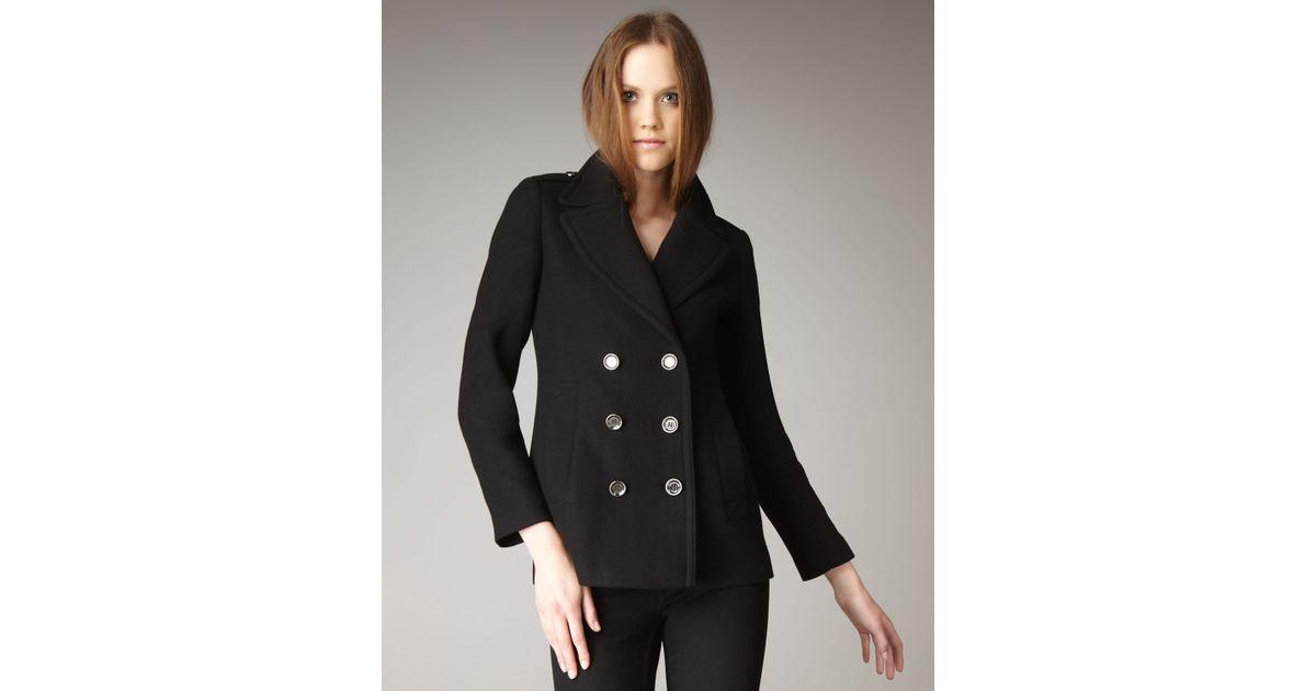 6bf539891419 Lyst - Burberry Brit Tumblebridge Coat in Black