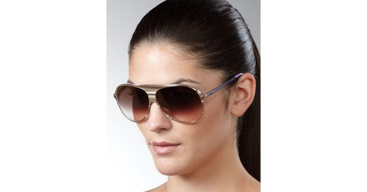 64999621b949 Lyst - Dior Tahuata Aviator Sunglasses
