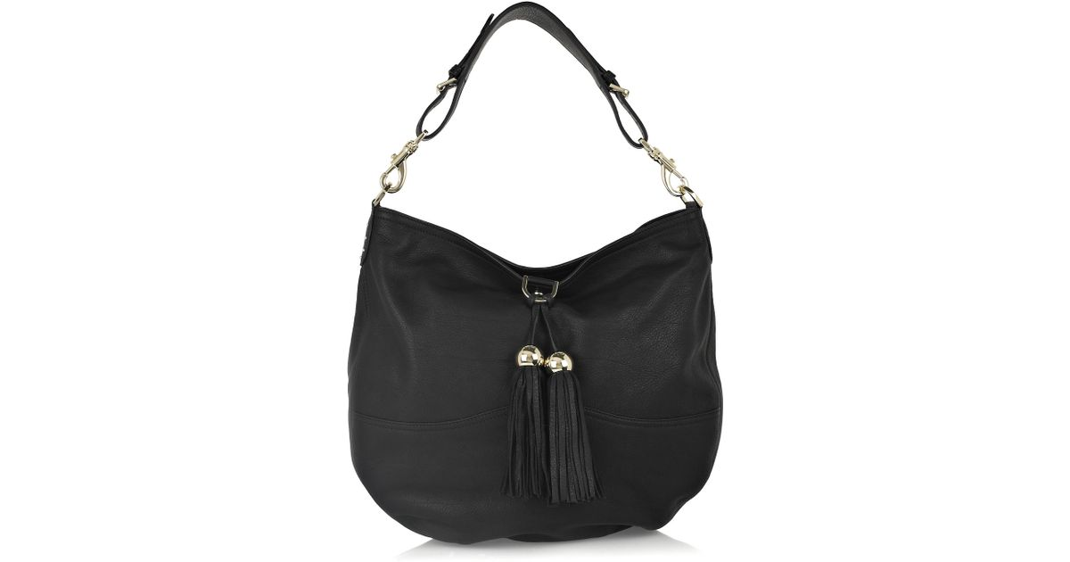 3936c91139 ... where to buy lyst mulberry greta large leather bag in black 53d08 ca8e0  ...