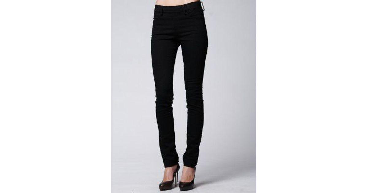 2932d3d4222 Lyst - Acne Studios Zip Back Denim Jean in Black