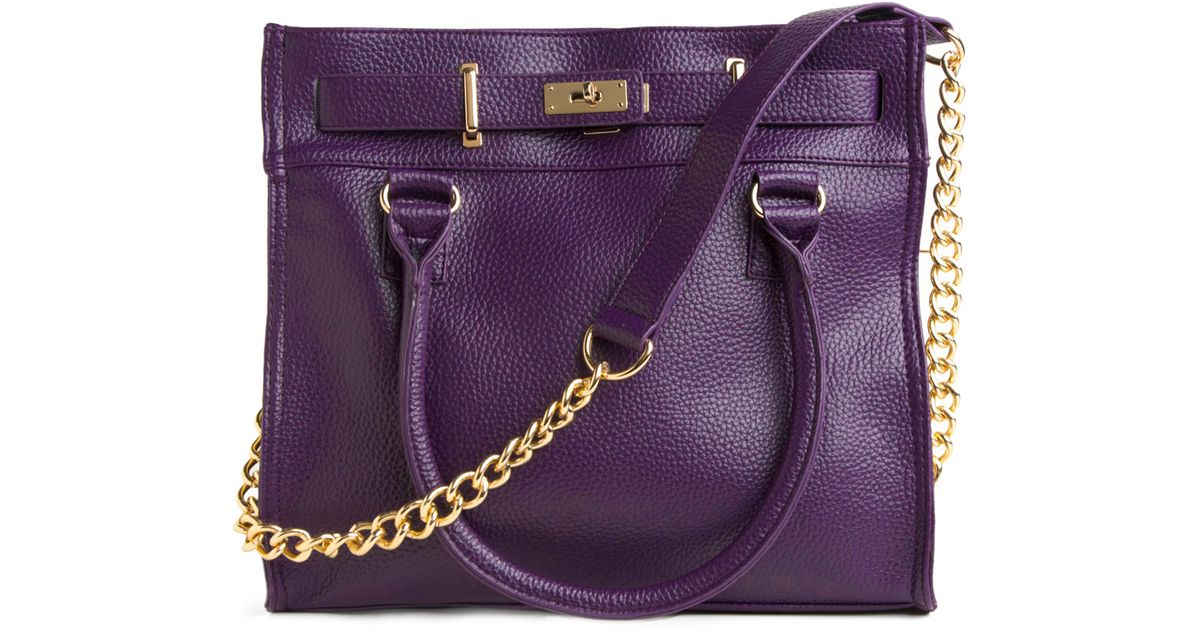 0c9857b30bf2 Lyst - Modcloth Eggplant For Every Occasion Bag in Purple