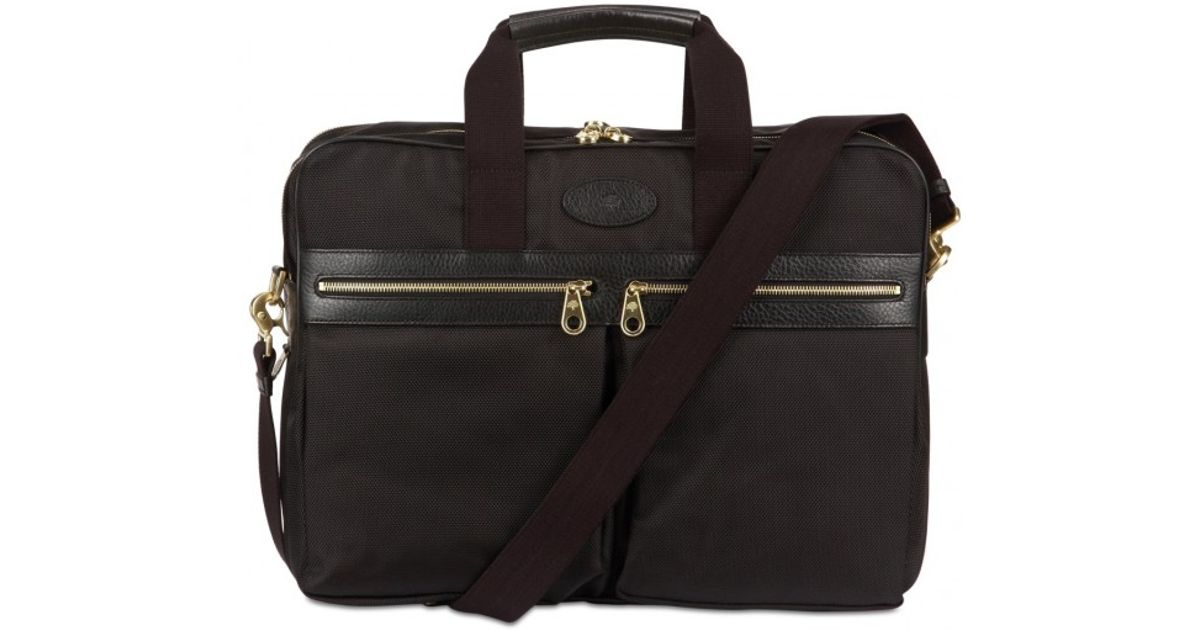 20f65312b86b Lyst - Mulberry Henry Overnight Nylon Briefcase Bag in Black for Men