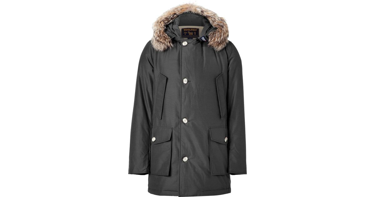 Woolrich Df Men For Arctic Black In Parka Faded Lyst CBwdqFF