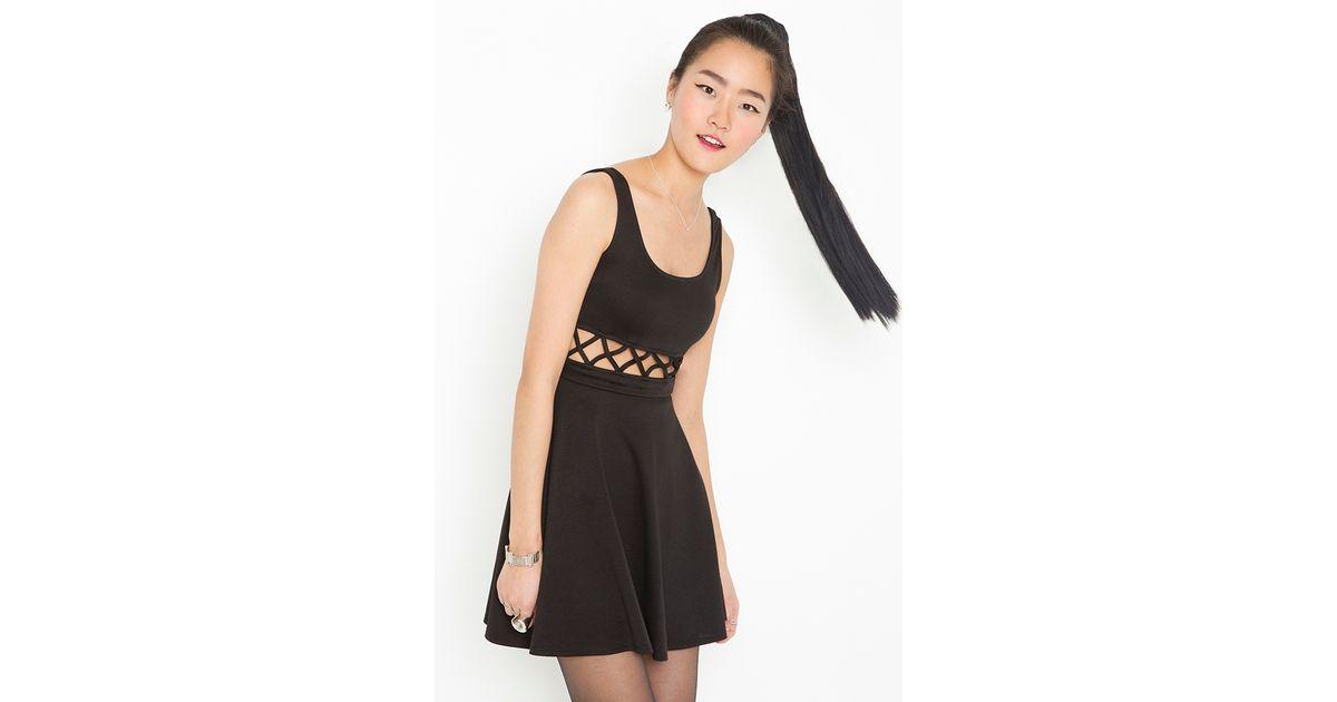 Nasty gal lattice lace dress