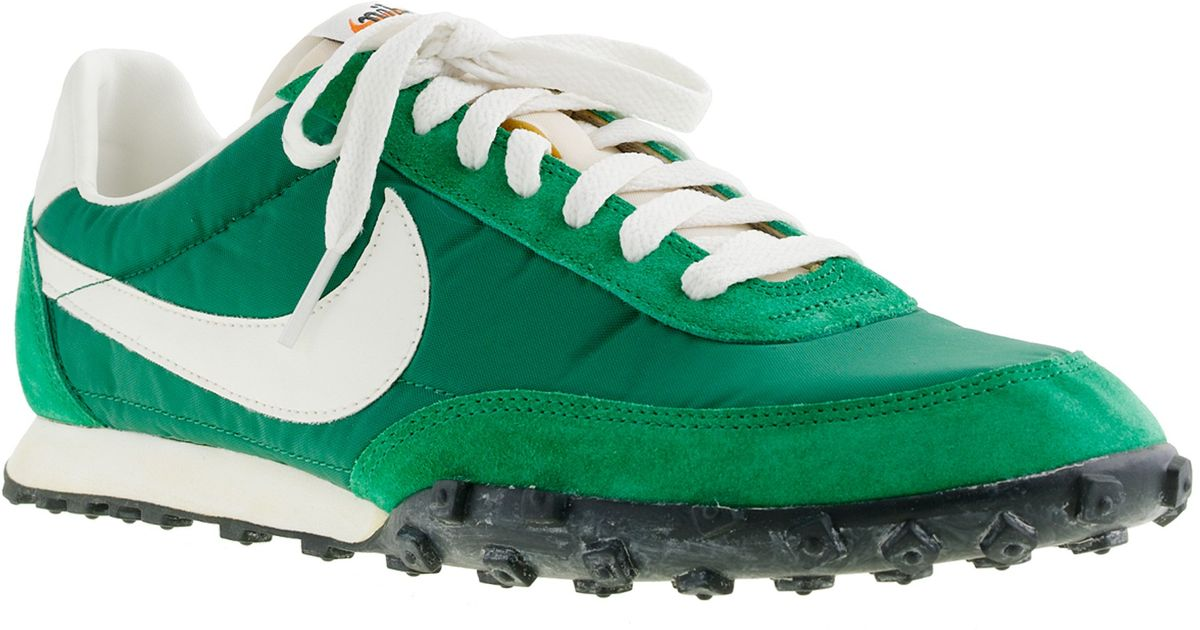 the latest a27c7 d7b89 J.Crew Nike® Vintage Collection Waffle® Racer Sneakers in Green for Men -  Lyst