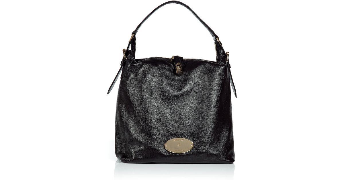 32b0d688ee Lyst - Mulberry Black Bella Hobo Bag in Black