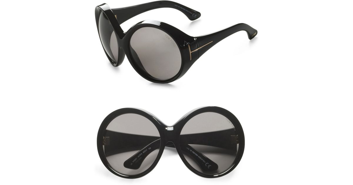 14d28481d9ce ... Lyst Tom Ford Limited Edition Ali Sunglasses in Black