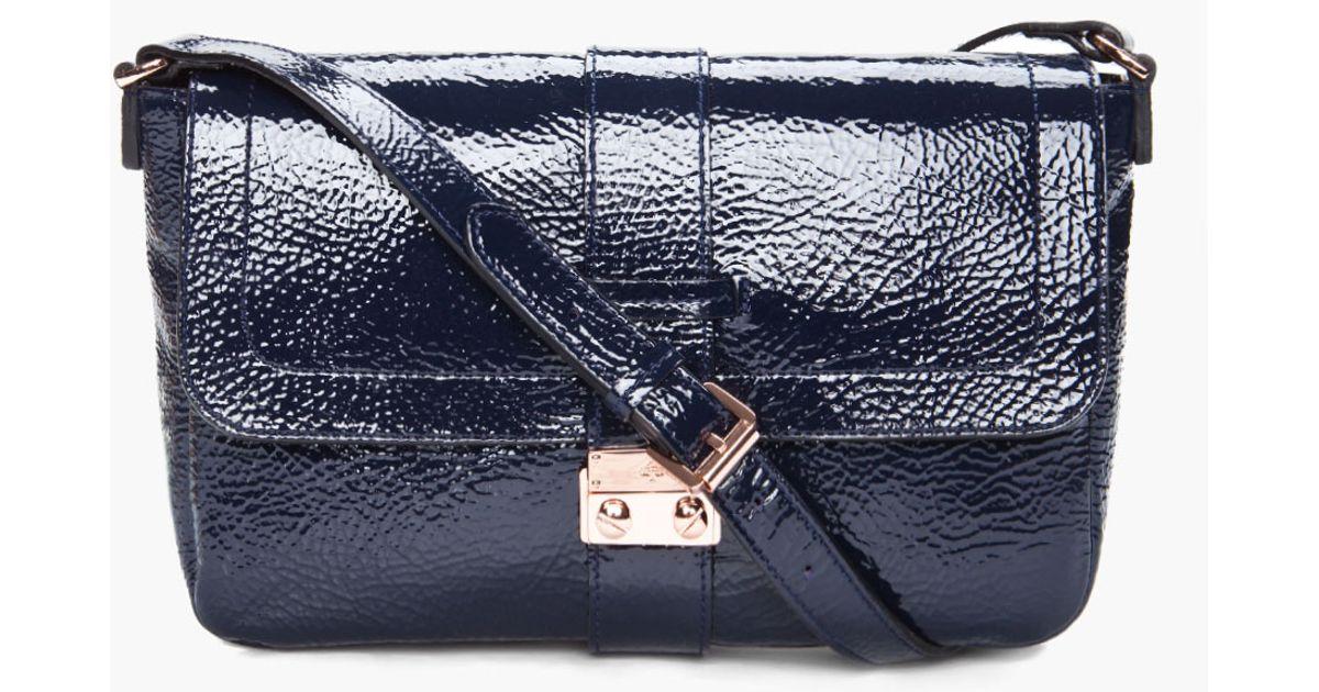 d932e0567065 Lyst - Mulberry Blue Harriet Shoulder Bag in Blue