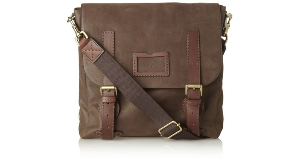 188dc4f304 ... czech mulberry rockley messenger bag in brown for men lyst 96e89 66907
