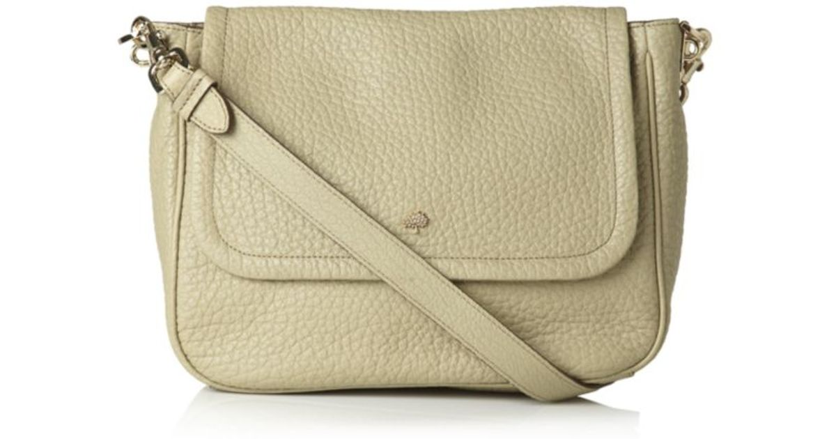 ireland mulberry. evelina leather shoulder bag c77e7 1c45a  order mulberry  evelina satchel summer khaki in natural lyst a255d 98d5d 6cab543c6ecbc