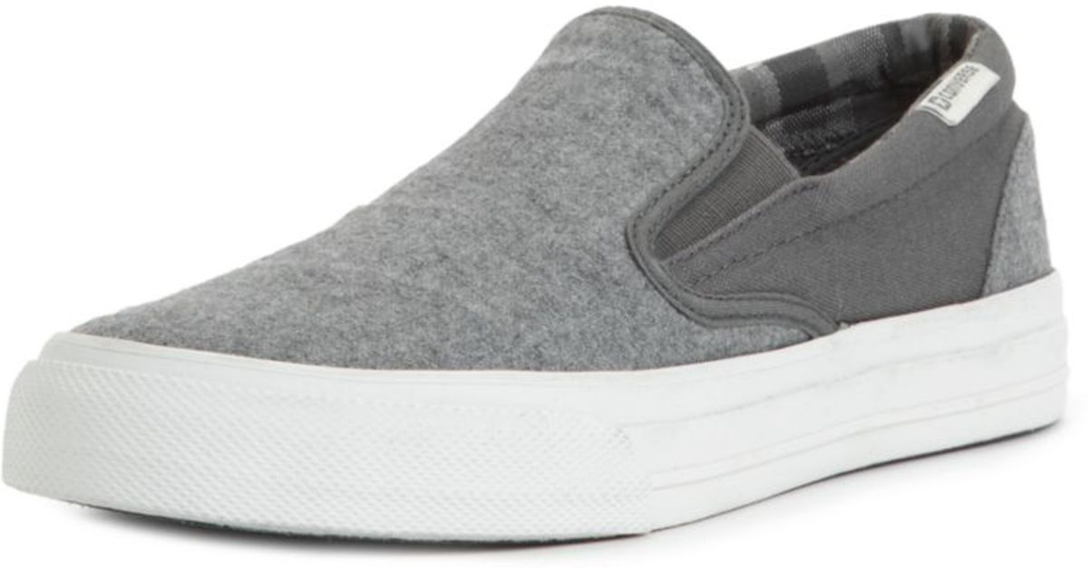 48fe3e6382f Lyst - Converse Skid Grip Slip Ons in Gray for Men