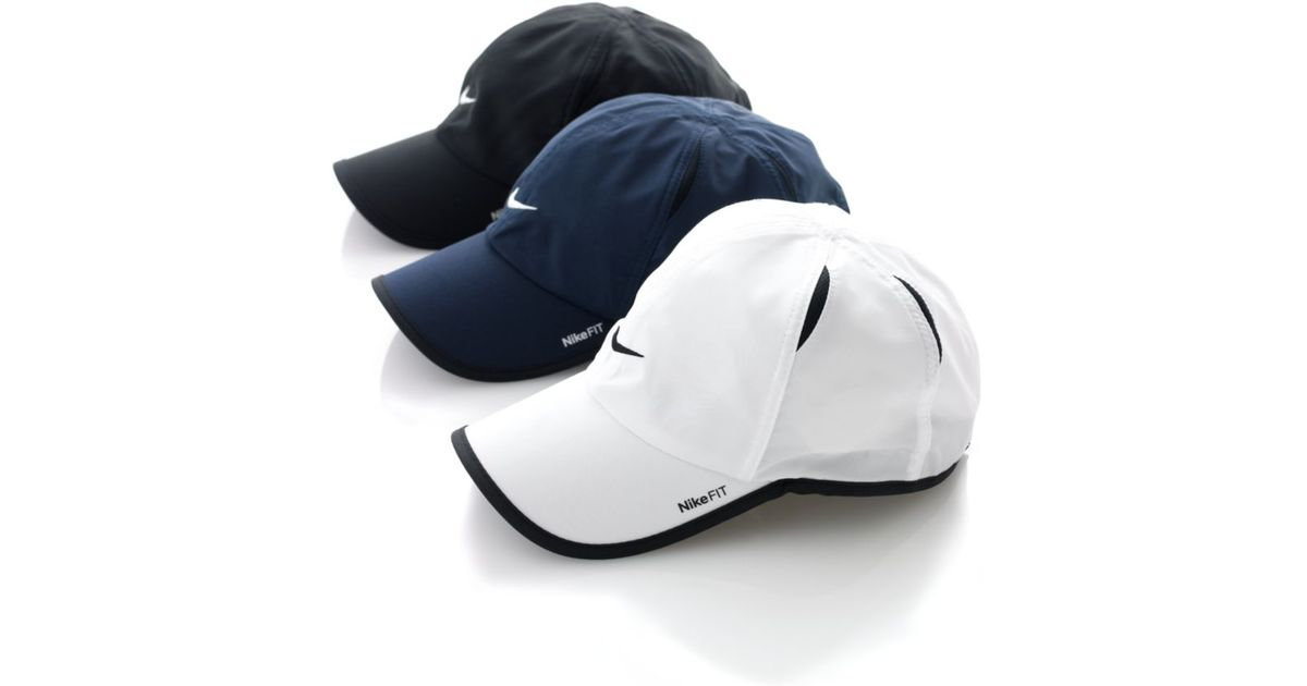 07928a50eee Lyst - Nike Dri Fit Feather Light Cap in Black for Men