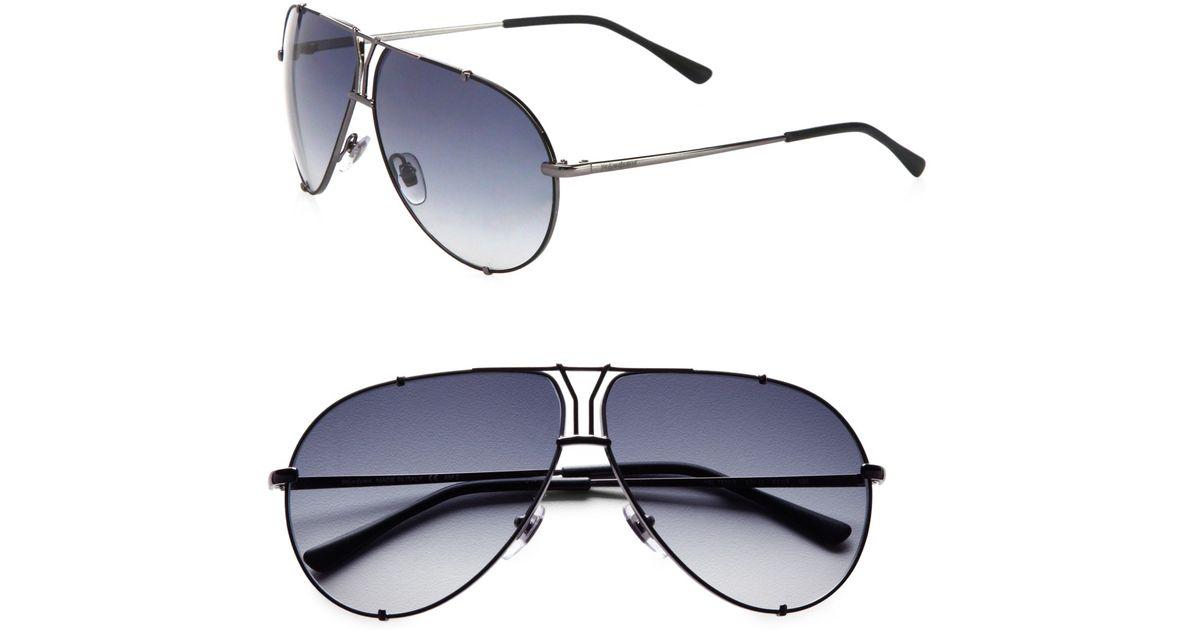 Saint Laurent Logo aviator sunglasses gOrEeScNX