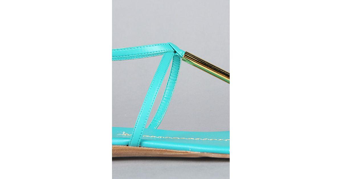 03c3a67d09ba Lyst - DV by Dolce Vita The Archer Sandal in Mint in Blue