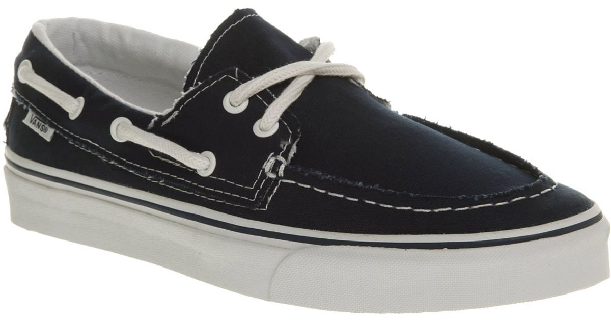 Barco Black Zapato Lyst For In Vans Navywhite Men Del Rxwaqtq47