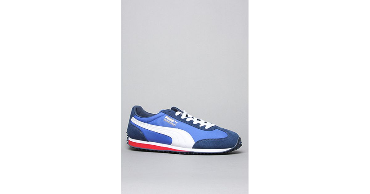 a02cd29a350e27 Lyst - Puma The Whirlwind Classics Sneaker in Navy White Royal in Blue for  Men