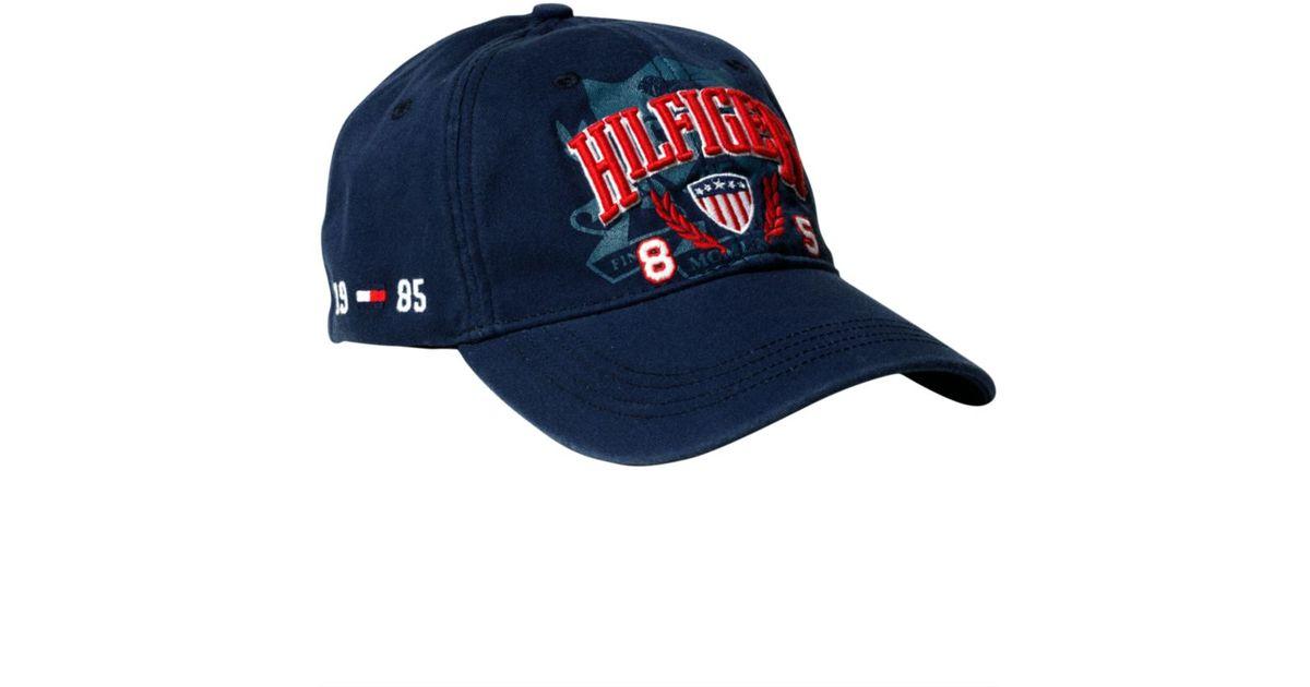 Lyst - Tommy Hilfiger Usa Baseball Hat in Blue for Men b855171361f