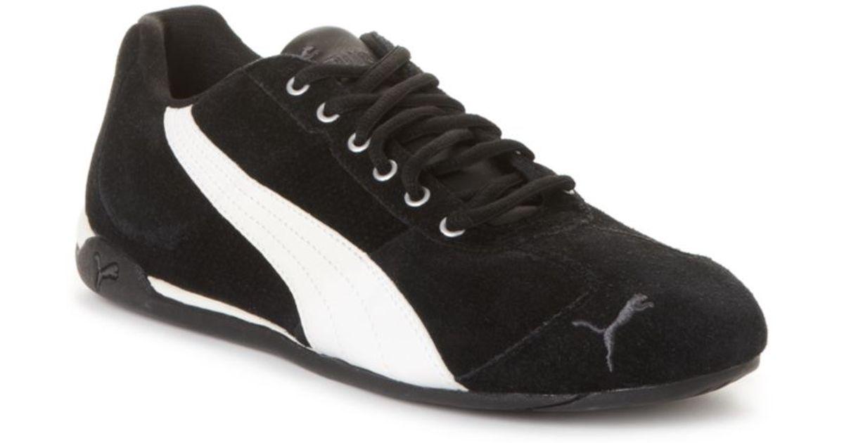 e911da570829db Lyst - PUMA Repli Cat Iii Suede Sneakers in Black for Men