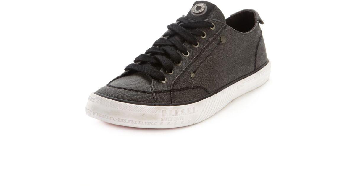 e20ba56ab0b4 Lyst - DIESEL Dvelows D78 Low Sneakers in Black for Men