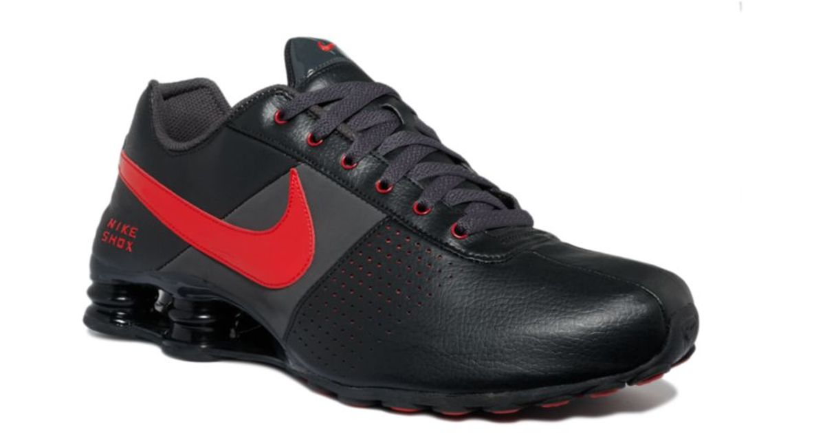 info for 57fc3 9e62f ... new style lyst nike shox deliver shoes in black for men 7fd40 896c1