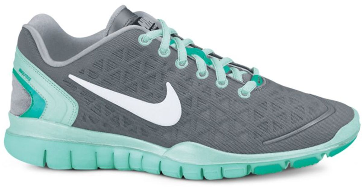 Lyst - Nike Free Tr Fit 2 Sneakers in Gray aac2cafa3