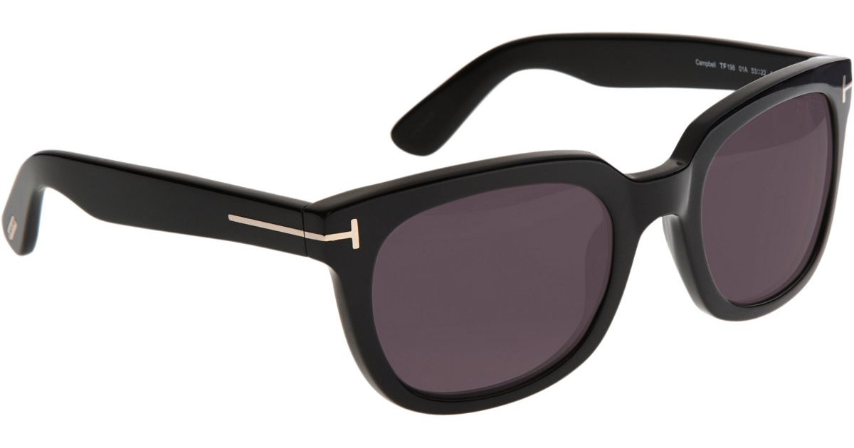 Tom Ford Campbell Sunglasses in Black for Men - Lyst