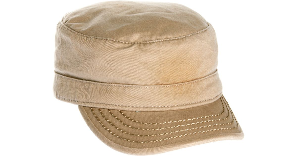 724cccadc44c6 ... reduced lyst diesel celove litary cap in natural for men 10a5d 5c645