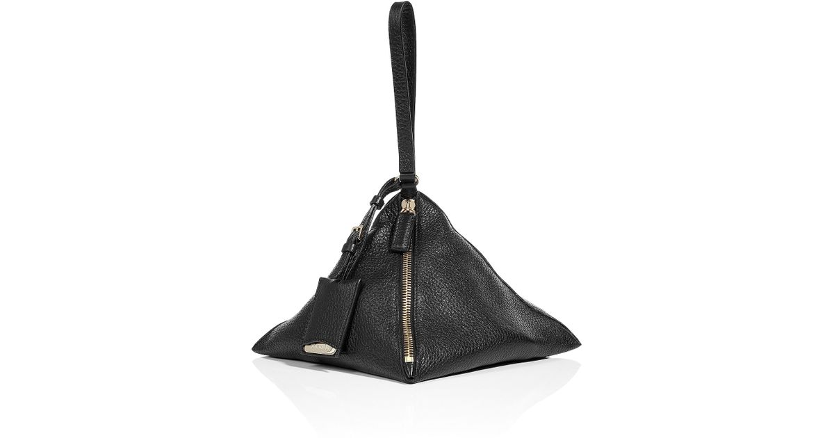 3222b633a jil-sander-black-black-pyramid-shaped-wristlet-bag-product-1-4001208-145692167.jpeg