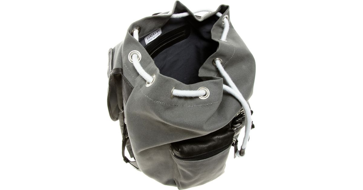 3abac0dba9 Lyst - Sandqvist Roald Backpack in Gray for Men