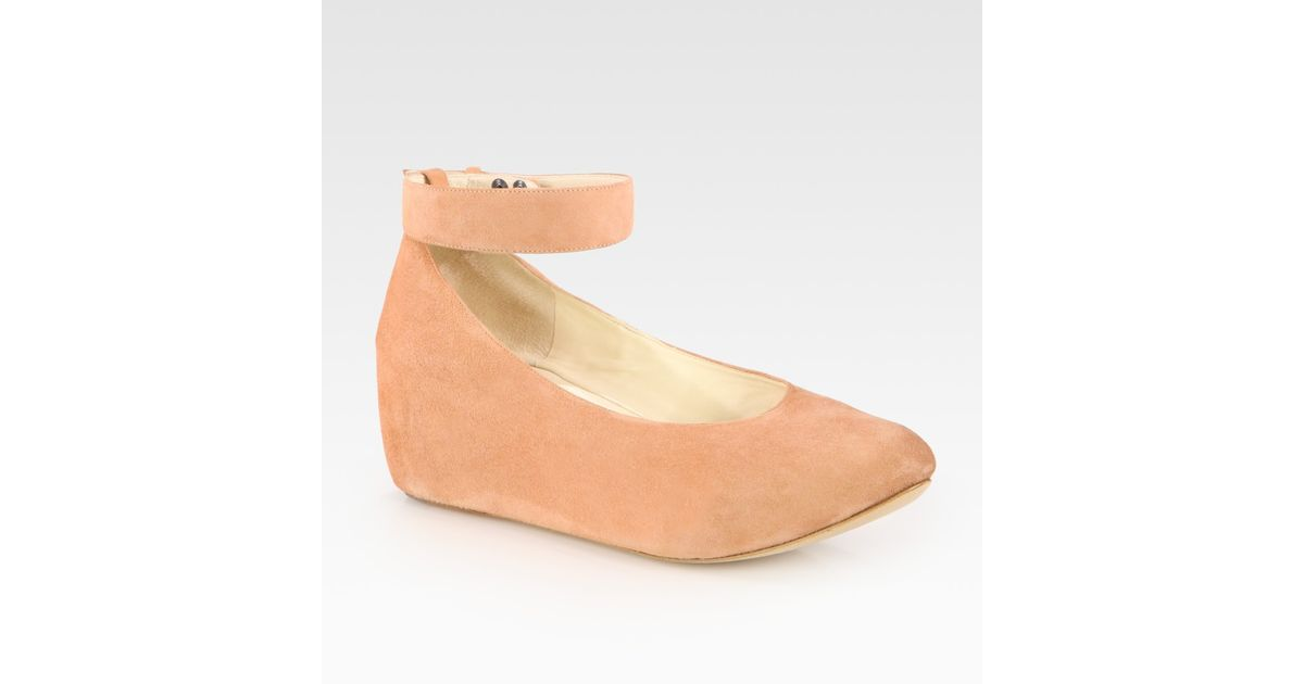 low shipping cheap online sale outlet locations Chloé Ankle Strap Wedge Pumps cheap low price Cheapest sale online 518oQIJR