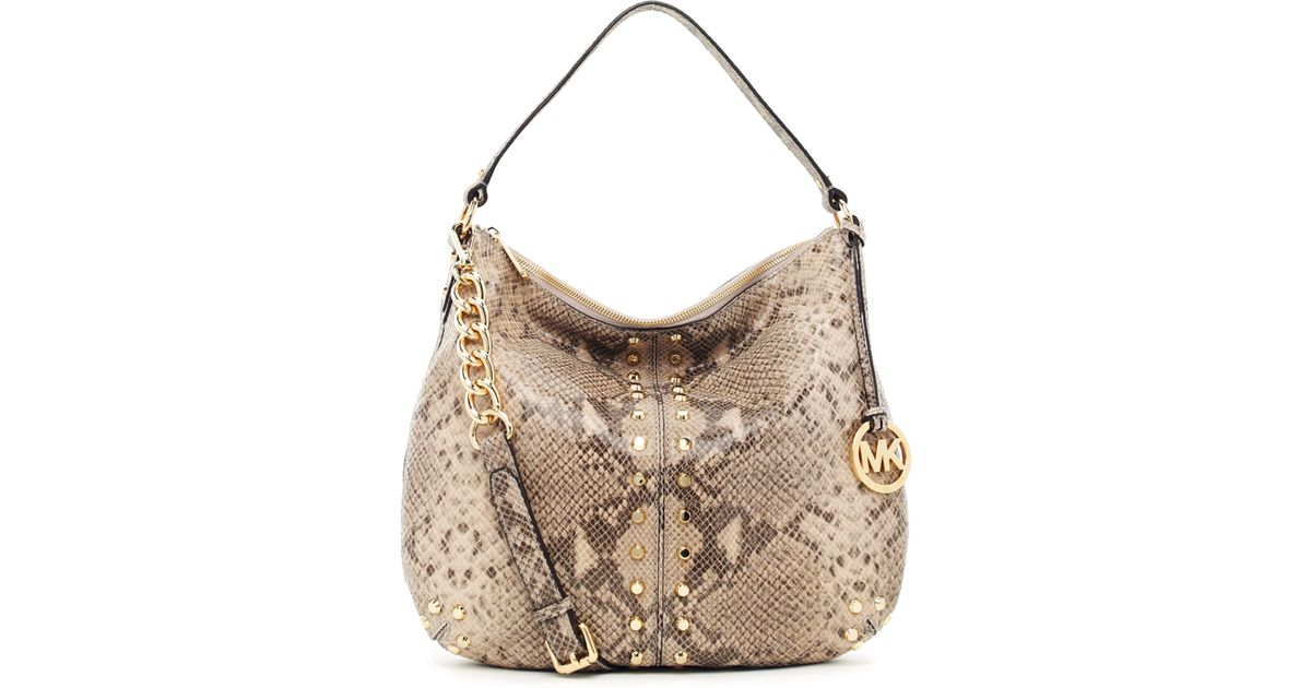 465ff3aed1d8 michael michael kors uptown astor large shoulder tote angora python ...