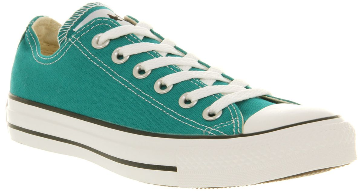 All converse star low tops green images