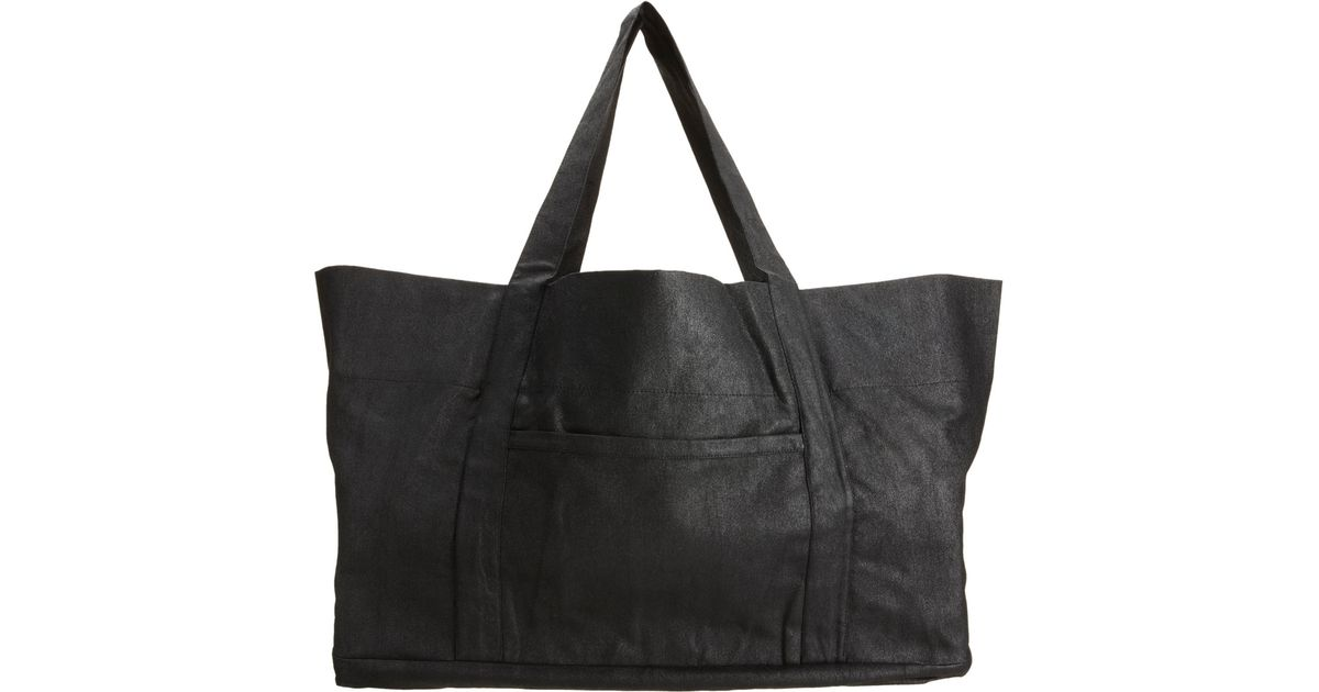 d3ad0dab4236 DRKSHDW by Rick Owens Large Beach Bag in Black for Men - Lyst