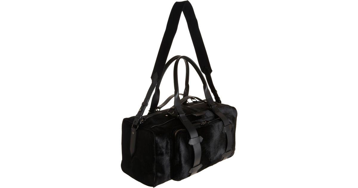 4fdbdab592b1 Givenchy Ponyhair Duffel Bag in Black for Men - Lyst