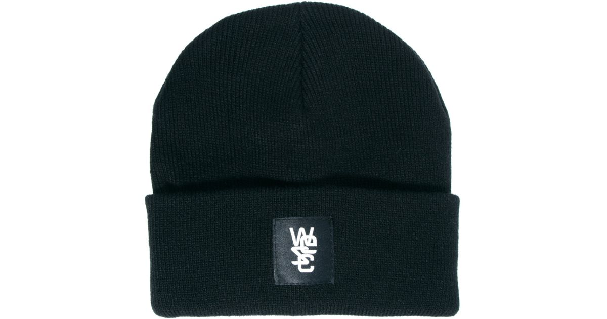 Lyst - Wesc Beanie in Black for Men 1dc476ab5d0