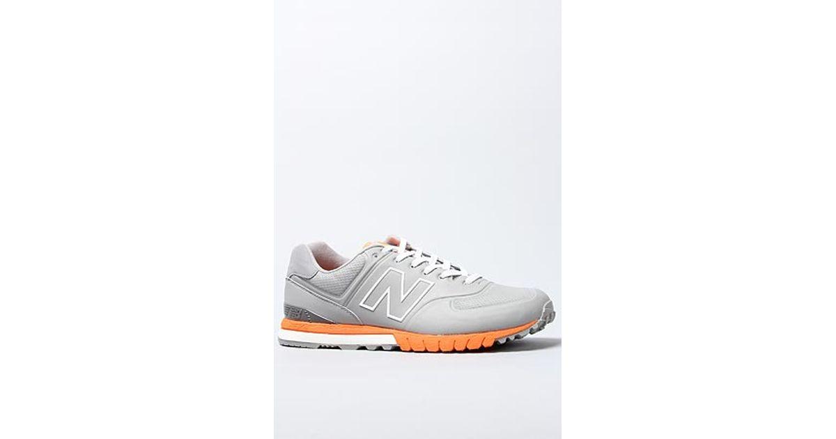 New Orange Balance 574 In Gray Sneaker Grey The Lyst Revlite CreBxod